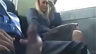 Pretty Kirmess Teen Schoolgirl Natalie Norton Seduced by a Dick During A Bus Ride