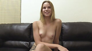 Ridiculously Charming 19 Year Old Beauteous Candace Butt Fucked