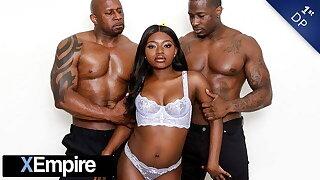 XEmpire - Elegant Ebony Noemie Bilas' 1st DP