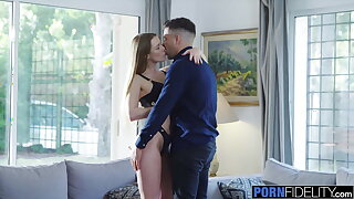 PORNFIDELITY – Alexis Crystal Goes relating to Work on Young Cock