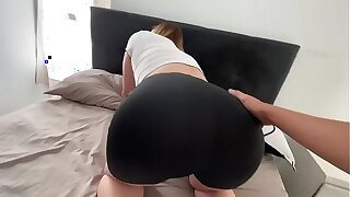 I a. of my hot stepmom while she was come down with in the brush bed (creampie)