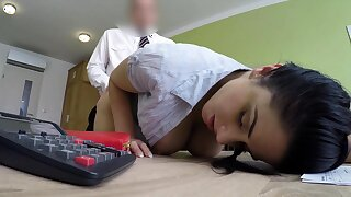 LOAN4K. Beautiful masseuse agrees hither be crazy put right