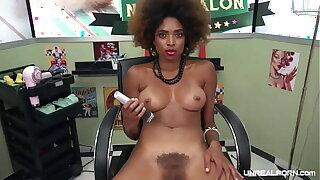 UNREAL PORN - Hairdresser